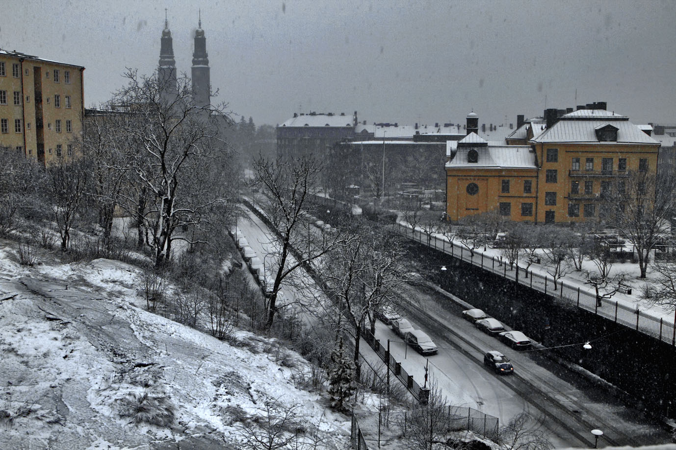 stockholm in the snow - photo #20