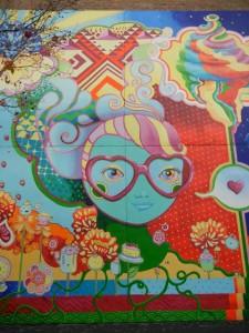 ice cram mural