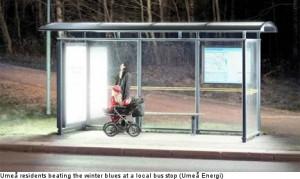 umea bus stop