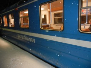 saltsjobanan train