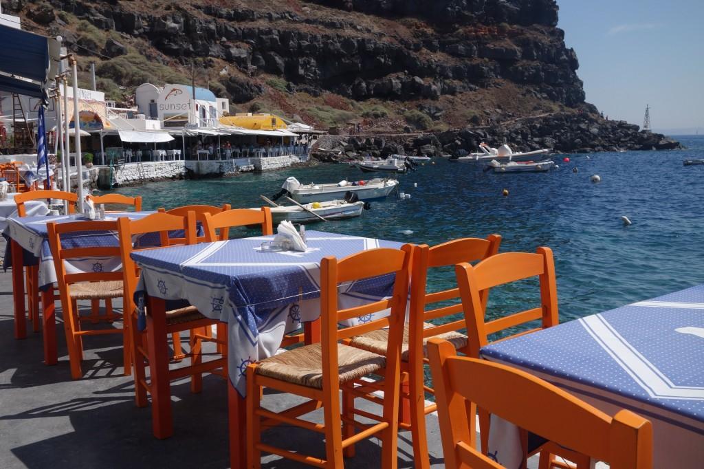 Santorini: Ammoudi